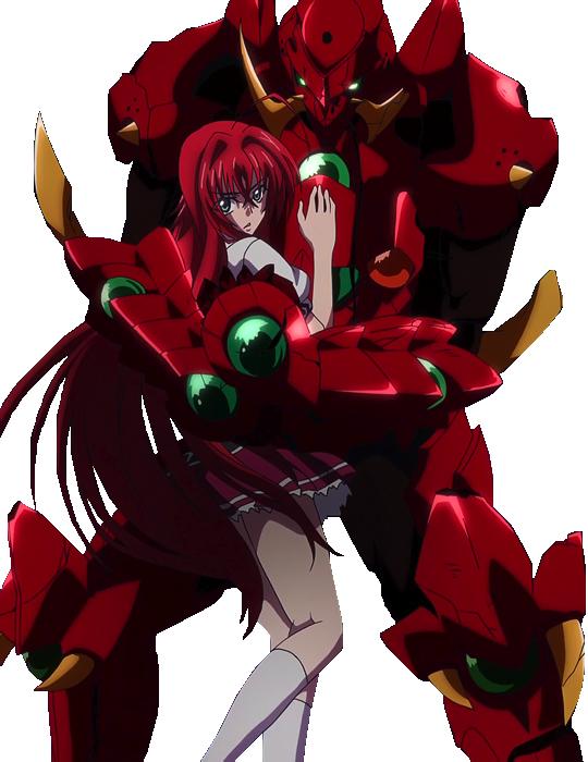 Issei X Rias 2 0 High School Dxd Render By Ironoakman Highschool Dxd Anime High School Dxd