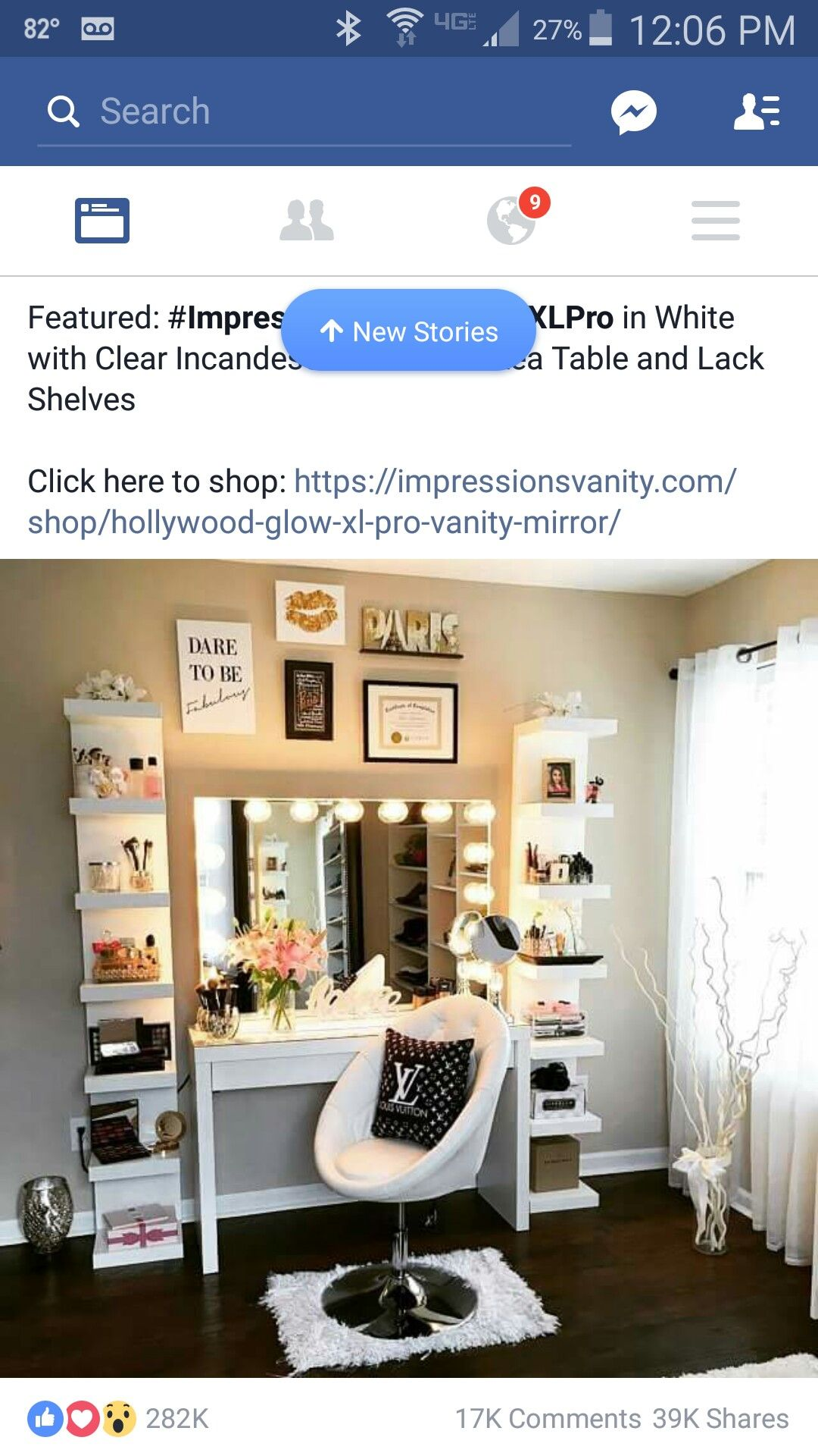Glam Closet, Closet Rooms, Bedroom Closets, Bedrooms, Decor Ideas, Gift  Ideas, For The Home, Vanity Mirrors, Vanity Tables