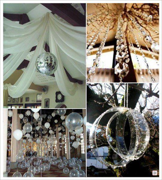 mariage hiver decoration salle guirlande cristal boule facette arbre mariage hiver pinterest. Black Bedroom Furniture Sets. Home Design Ideas