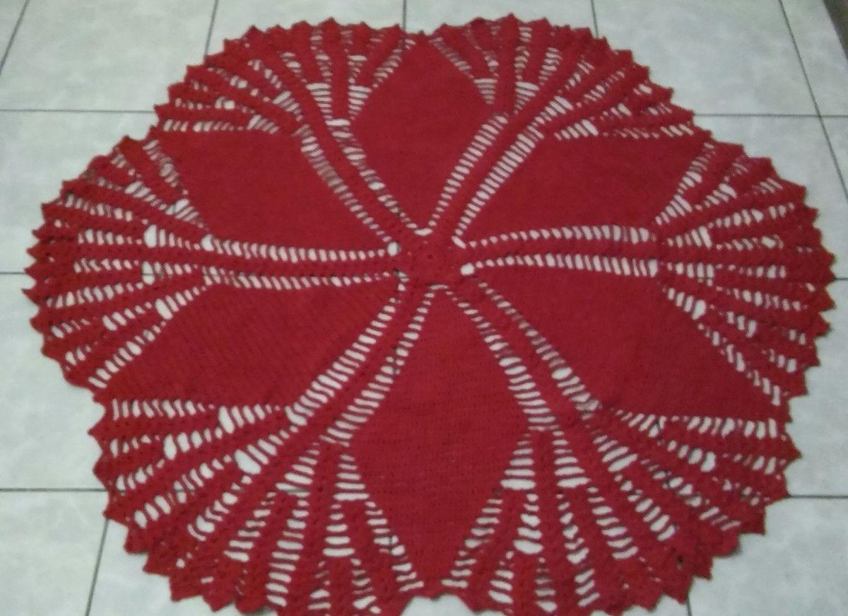 Tapete De Sala Vermelho Sab O Em P Sala Vermelha E Tapete De Sala -> Tapete Para Sala Croche