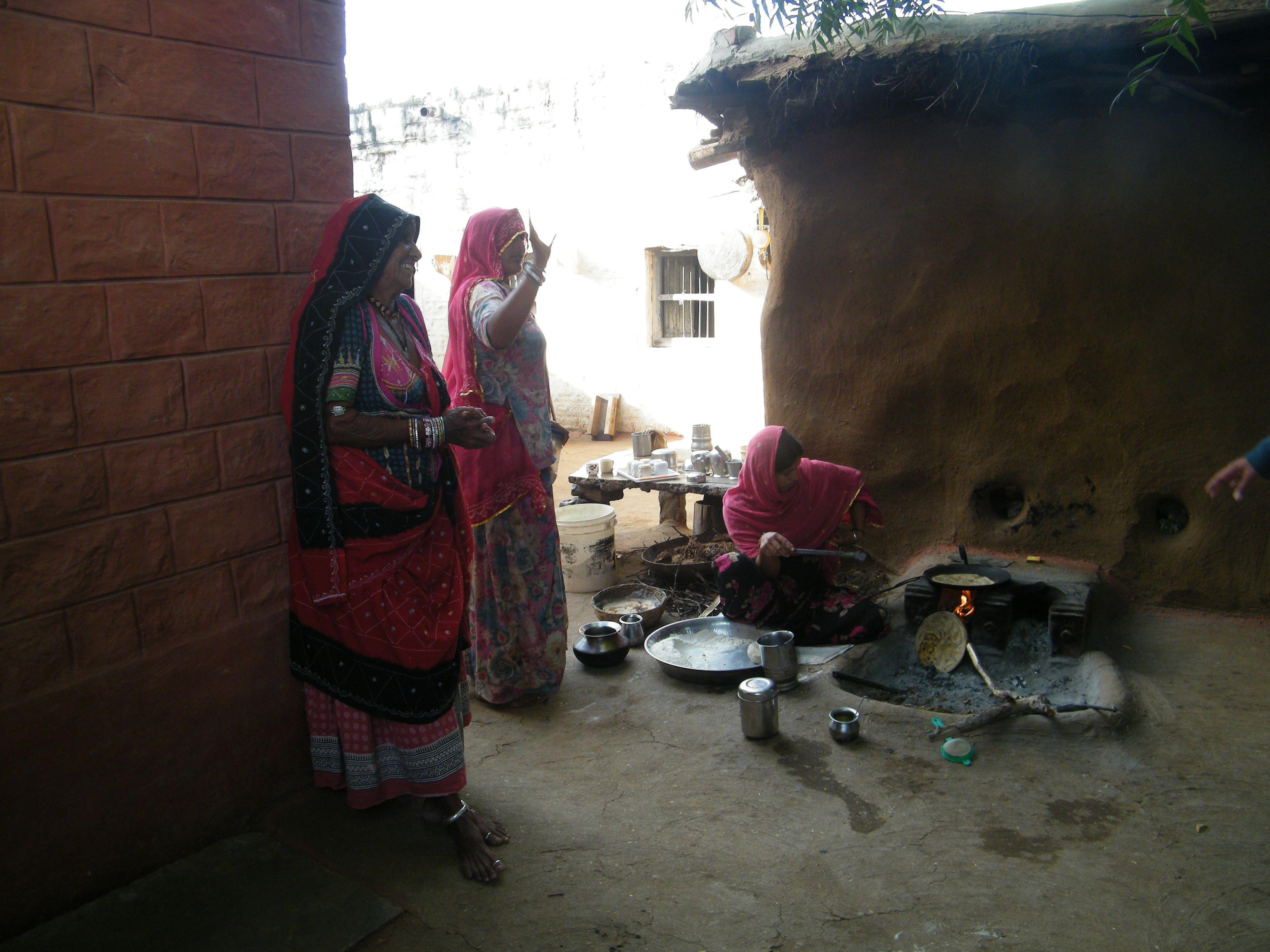 femmes Bishnoî région de Jodhpur photo personnelle