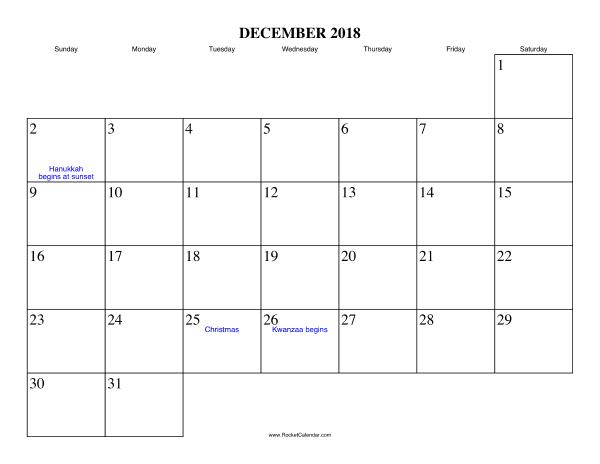2018 年の december 2018 calendar printable アート pinterest