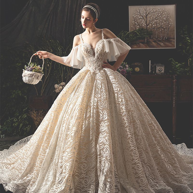 25+ Short sleeve lace wedding dress backless information