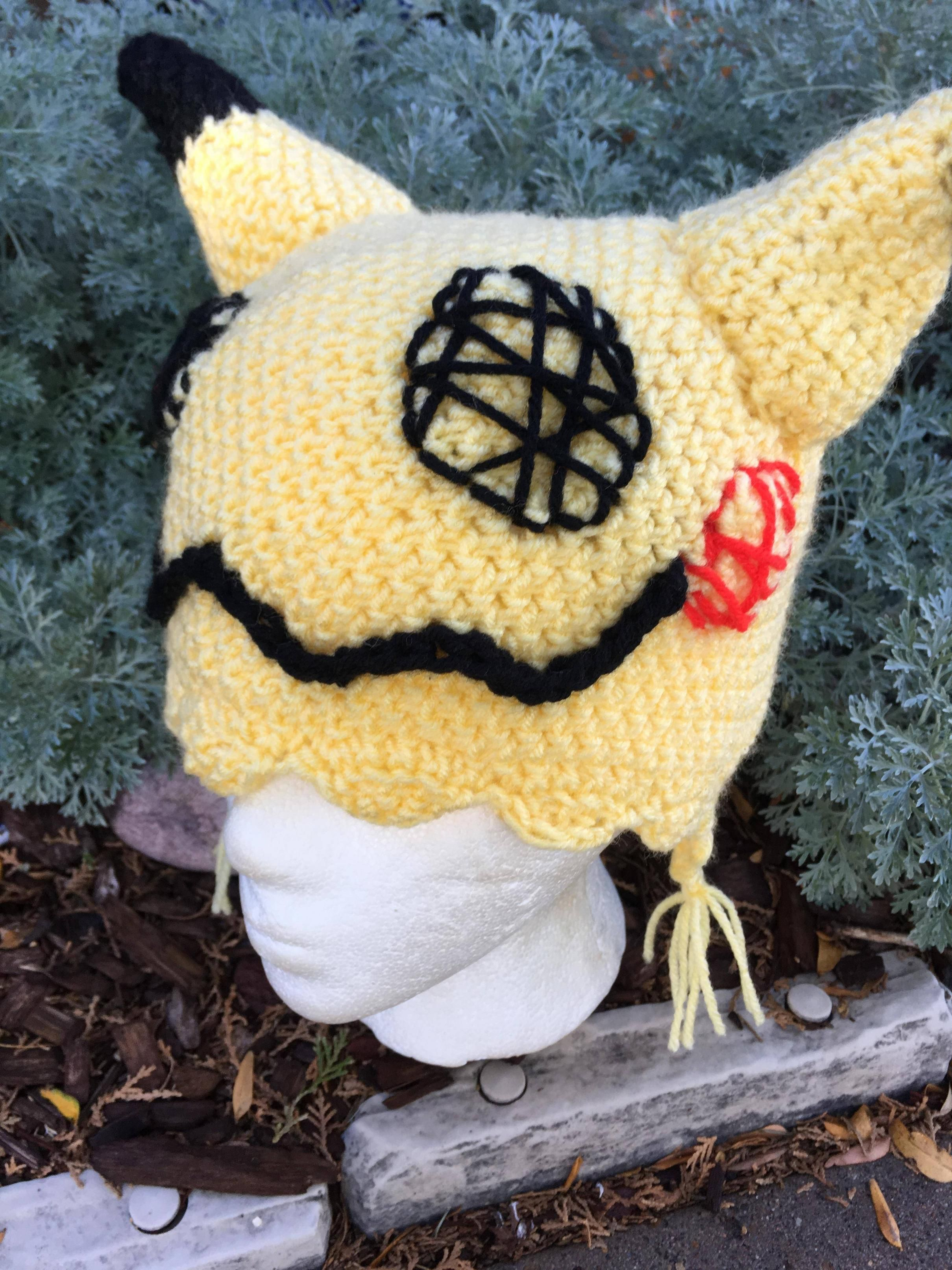 dfe9ac727af I made my own Mimikyu hat! (xpost Pokémon)