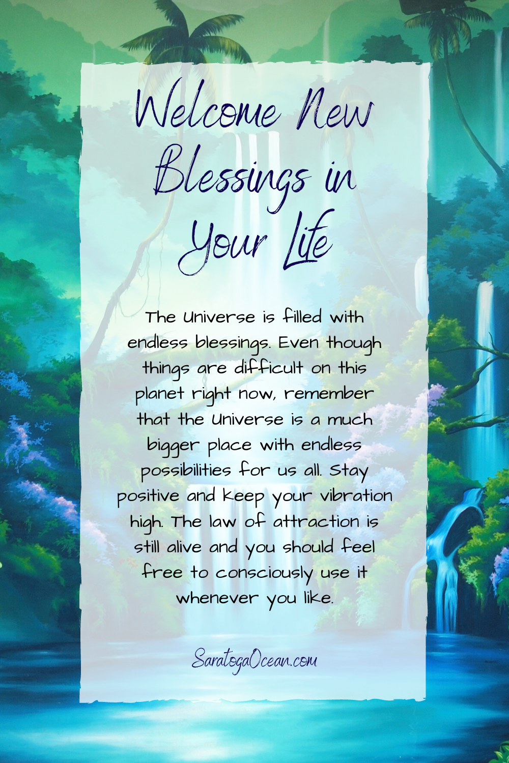 With All The Turmoil Going On Here On Earth It S Easy To Forget That We Always Have Access To Amazing Blessings In Ou Positivity Positive Mind Positive Quotes