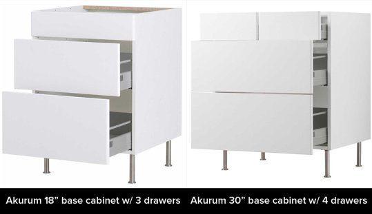 Interior Akurum Base Cabinet ikeas akurum vs sektion cabinets whats the difference ikea kitchen intelligence