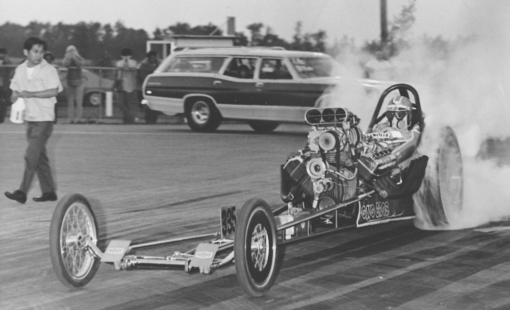 History Drag cars in motion.......picture thread. in