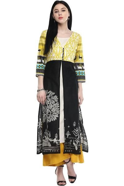 7b8a8e4f579 Shop now the latest suit on ladyindia.com Designer Pantaloons Women s  Cotton Kurta https