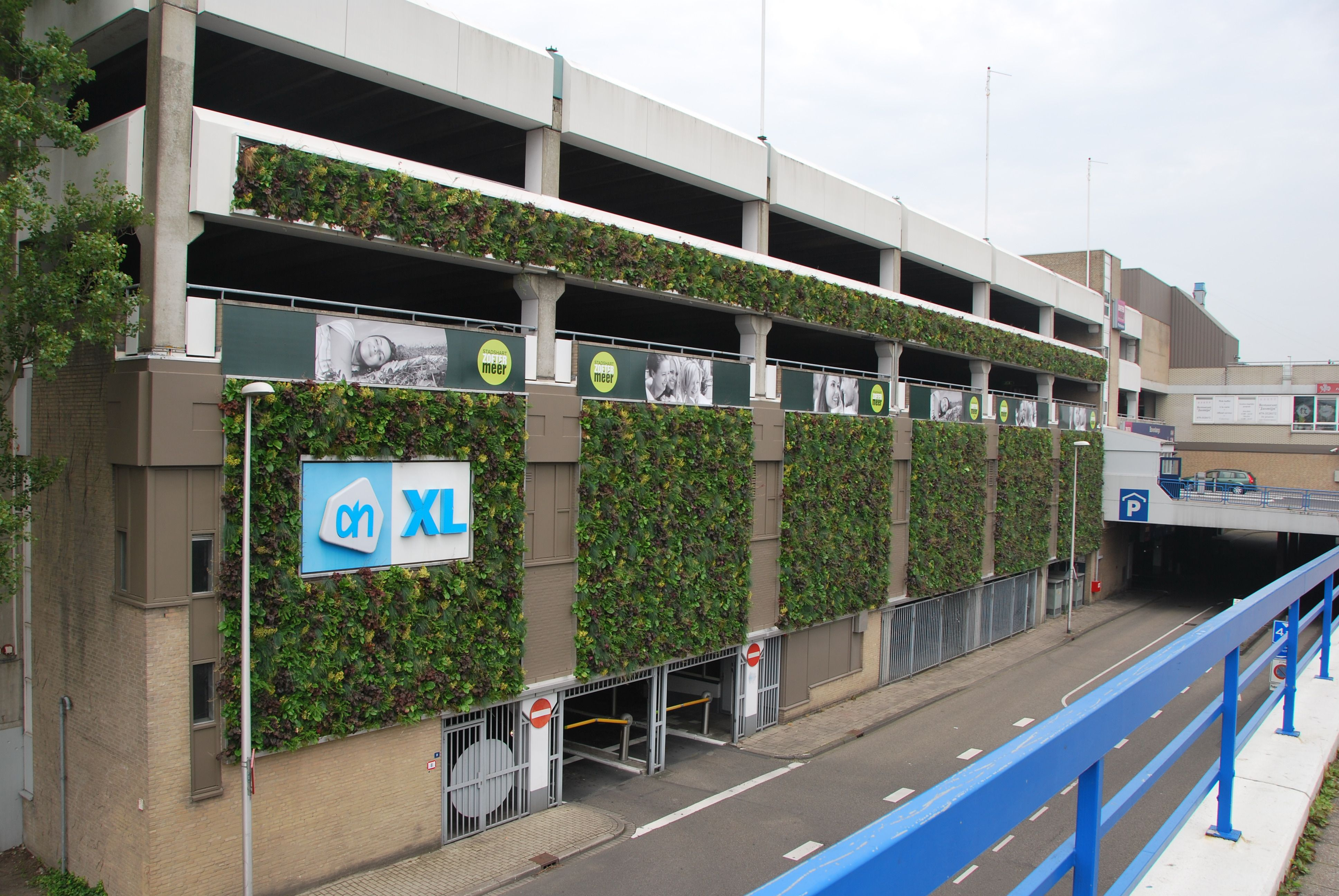parking garage ivy wall - Google Search