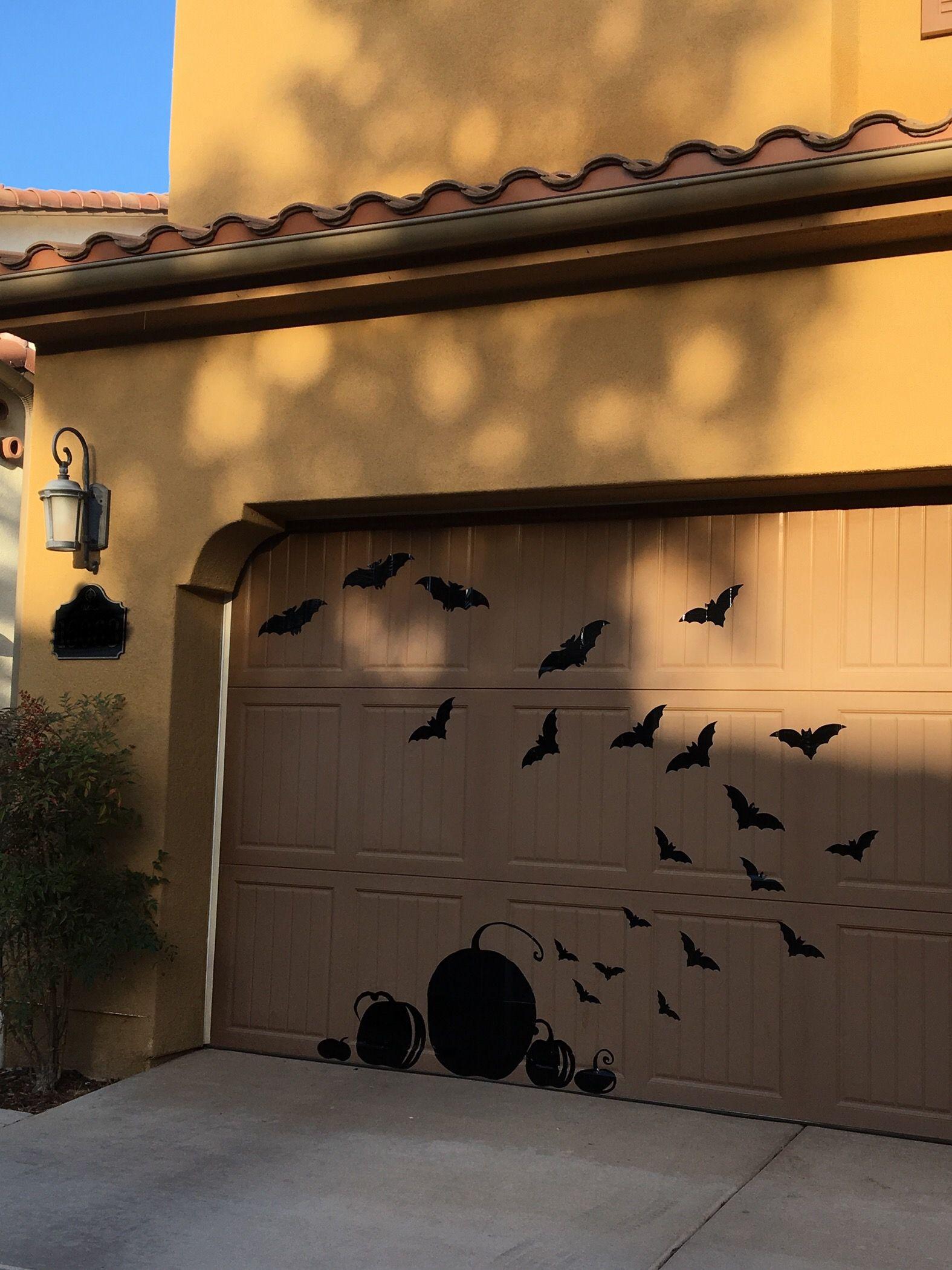 Halloween Garage Door Decoration Halloween garage