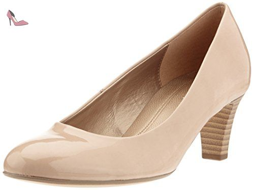 Gabor Shoes Fashion, Escarpins Femme, Beige (sand 72) , 39.5 - Chaussures