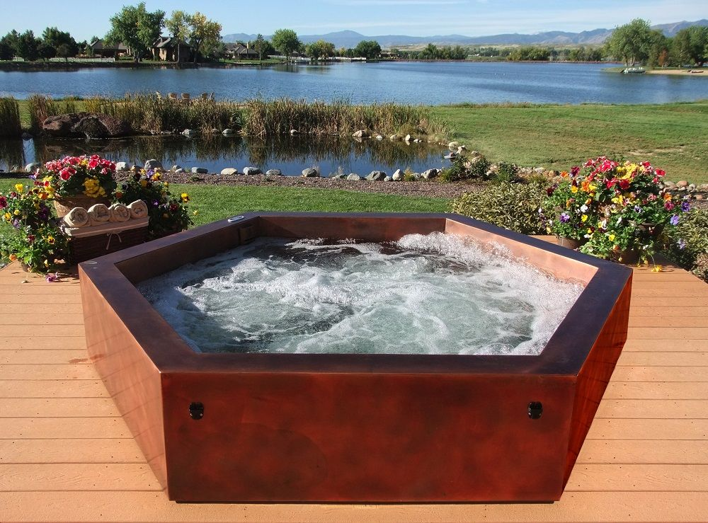 Outdoor Spas Hot Tubs Baths Hot Tub Hot Tub Outdoor Modern