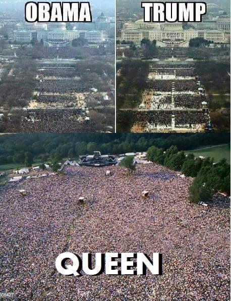 Obama Trump Queen Queen Meme Queen Band All The Things Meme