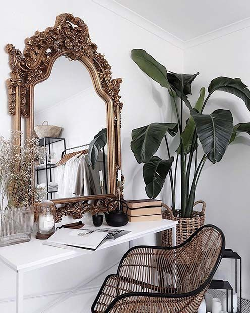 Photo of 43 Must-Have Makeup Vanity Ideas | Page 3 of 4 | StayGlam