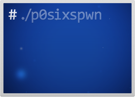 The new version of P0sixspwn for untethered jailbreak iOS