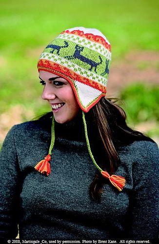 Solid Navy Blue Peruvian Beanie Cap Hat Winter Braided Ear Flap Chullo Warm Hats