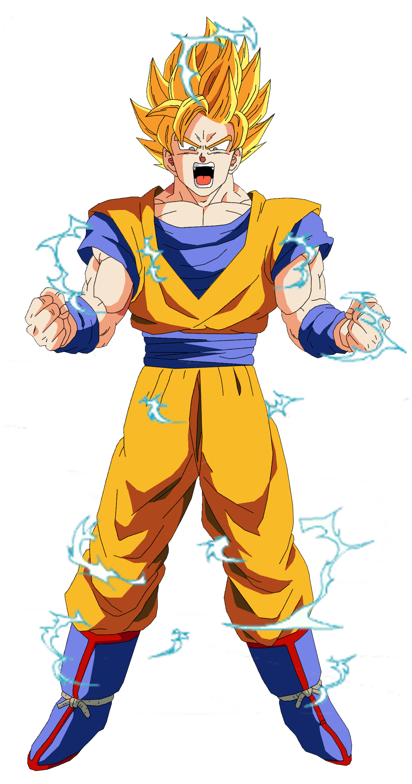 Gok SSJ2  Dragon Ball Z  Pinterest  Dragon ball Dragons and Goku