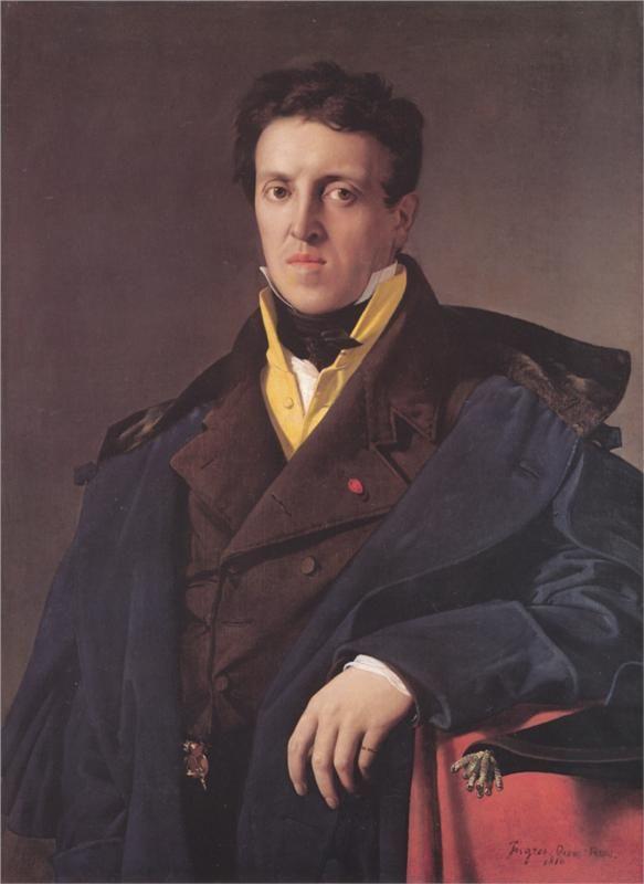 Charles-Marie-Jean-Baptiste Marcotte (Marcotte d'Argenteuil) - Jean Auguste Dominique Ingres