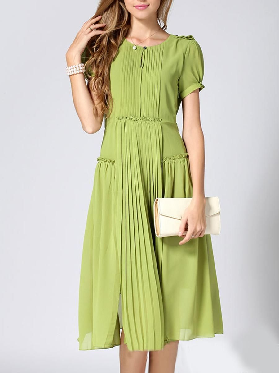 084840cef4 #EnvyWe #BerryLook Womens - berrylook Round Neck Plain Maxi Dress - EnvyWe .com