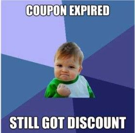 coupon expired...still got discount
