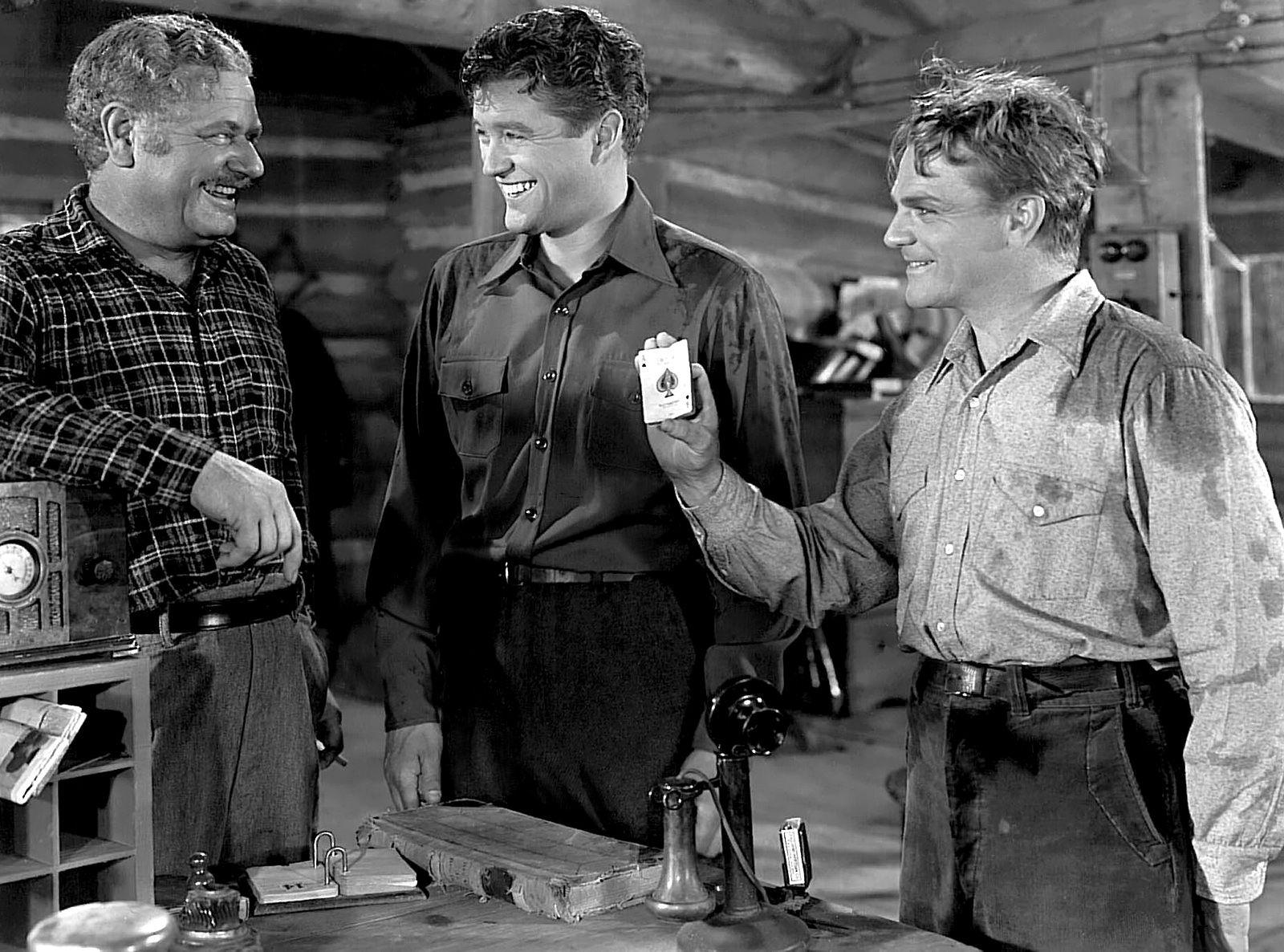 Captains of the Clouds (1942) ~ James Cagney, Alan Hale Sr. & Dennis Morgan    James cagney, American actors, Hollywood