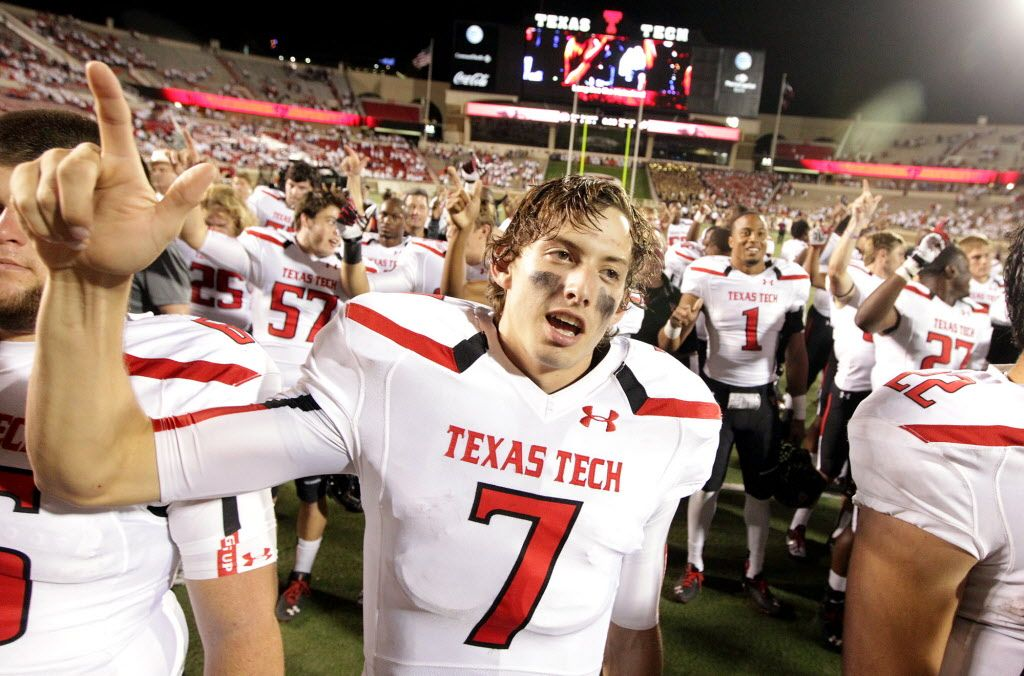 Davis Webb Texas tech Just Football Pinterest Texas