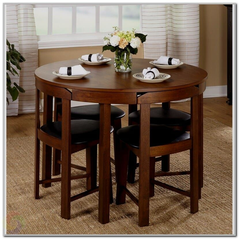 4 Piece Dining Set Under 100 Small Dining Table Kitchen Table Settings Small Round Kitchen Table