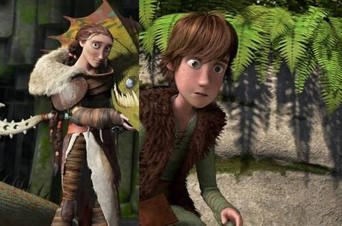 Hiccup and Valka look so much alike! | How To Train Your ...