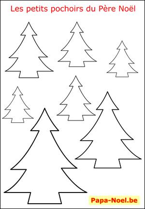 Imprimer Un Pochoir De Sapin De Noël Gratuit Pochoirs De
