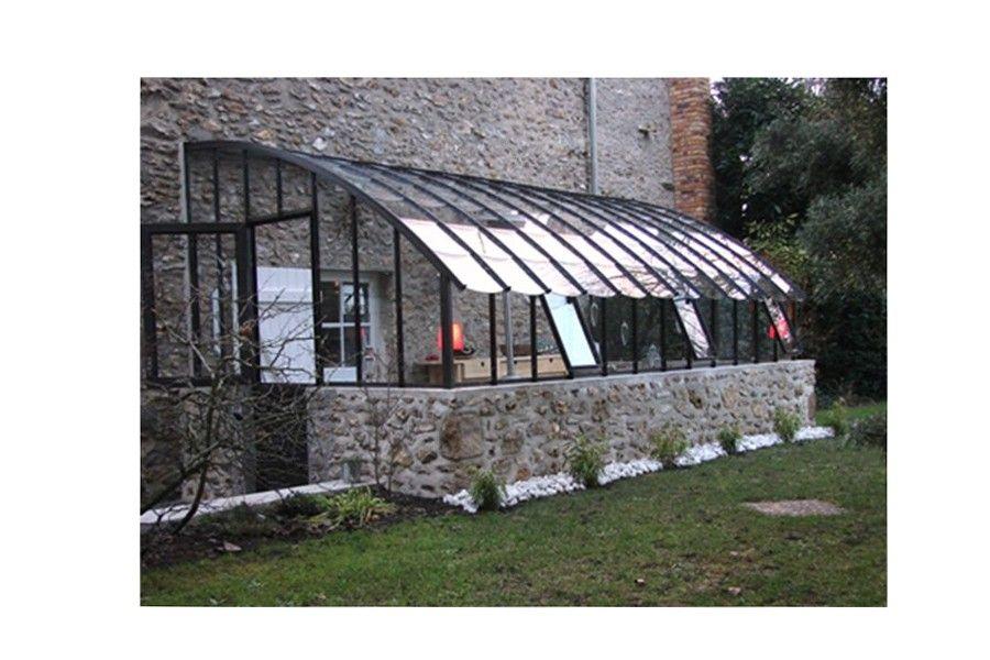 Exemple De Porte Battante Fermi Re Sur Une Serre En Verre L 39 Ancienne Veranda Pinterest