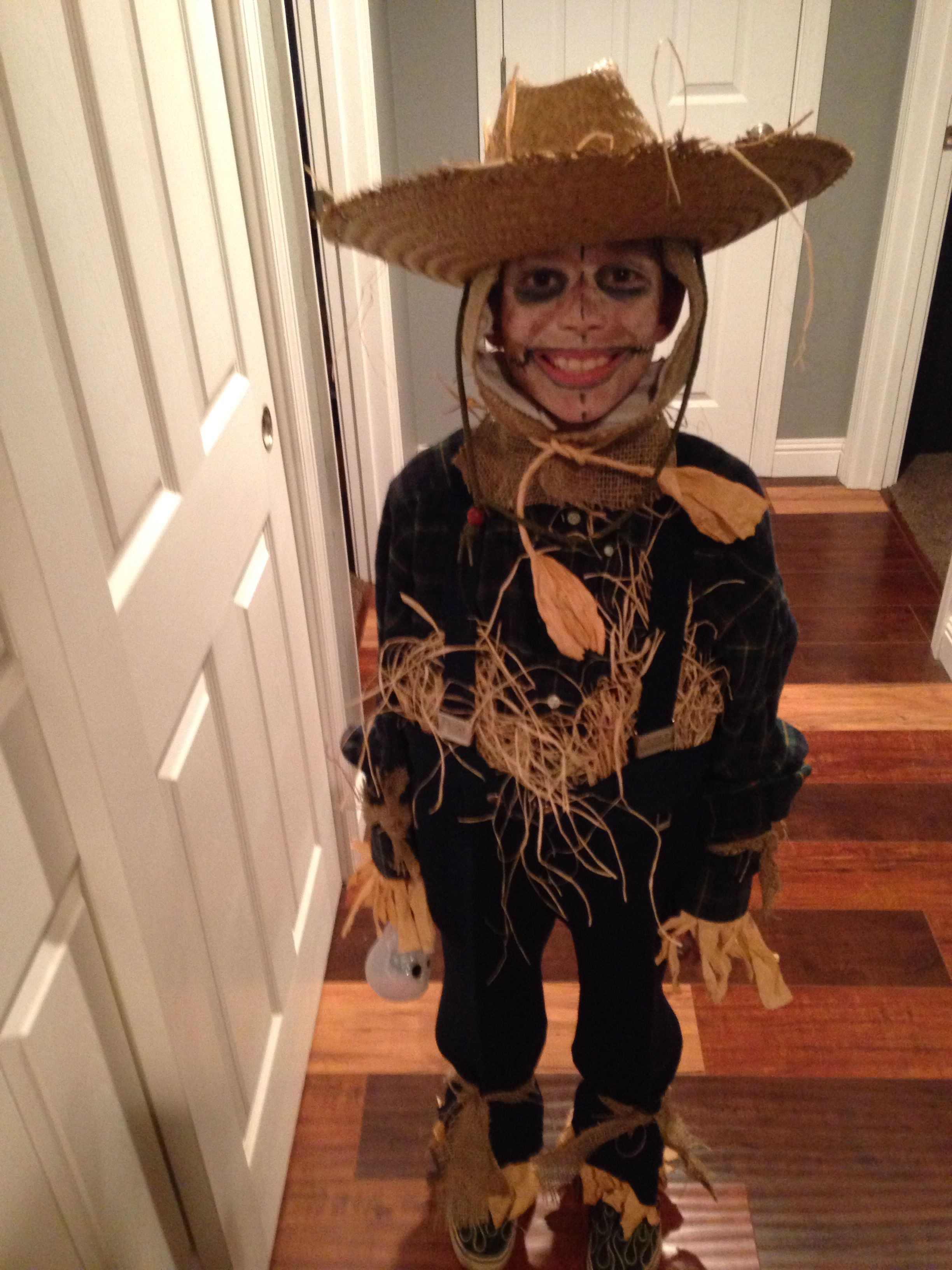 Trace The Homemade Scarecrow