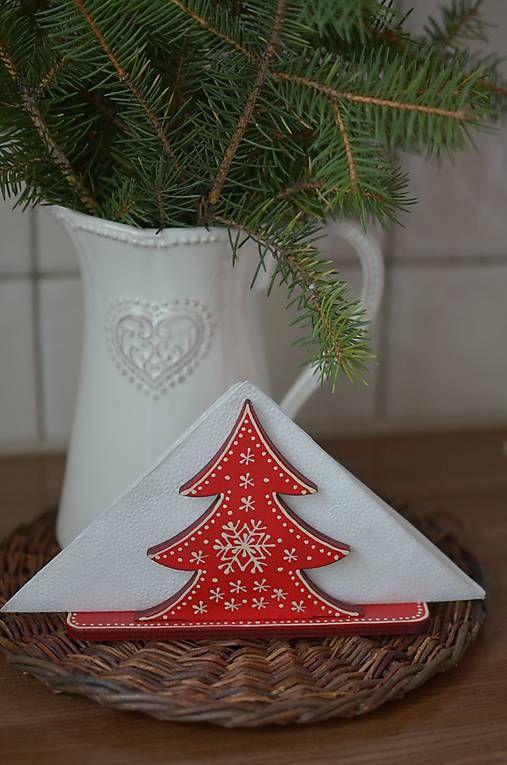 bubatko / Červený stromčekový stojanček