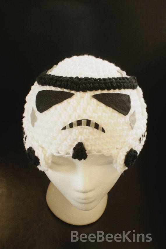Star Wars Storm Trooper Hat   star wars   Pinterest   Gorros ...