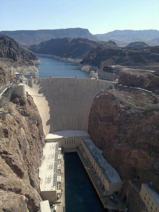 Hoover dam, Nevada.  (Helicopter tour is awesome!)