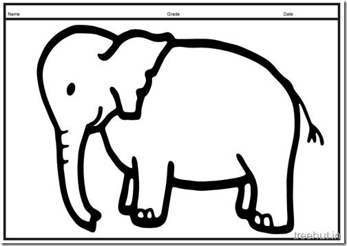 Printable Big Elephant Coloring Pages 3 Elephant Coloring Page Coloring Pages Dog Coloring Book