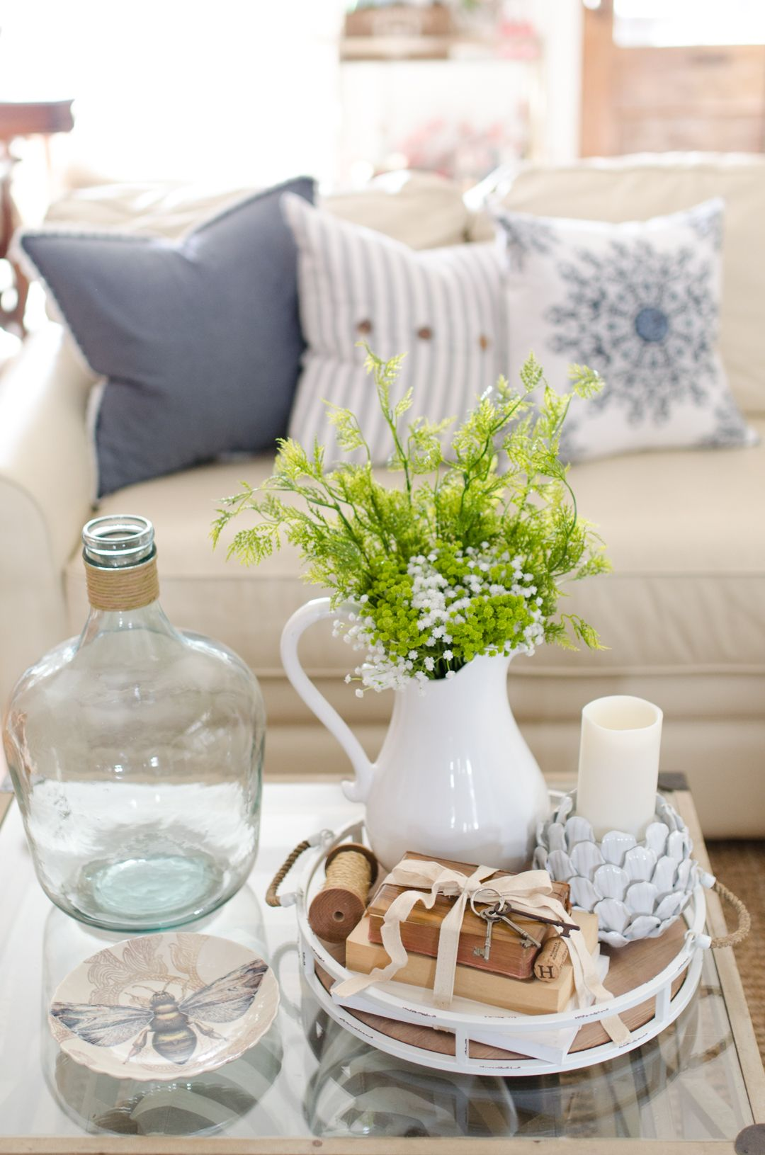 Spring home tour tips for effortless spring decorating coffee