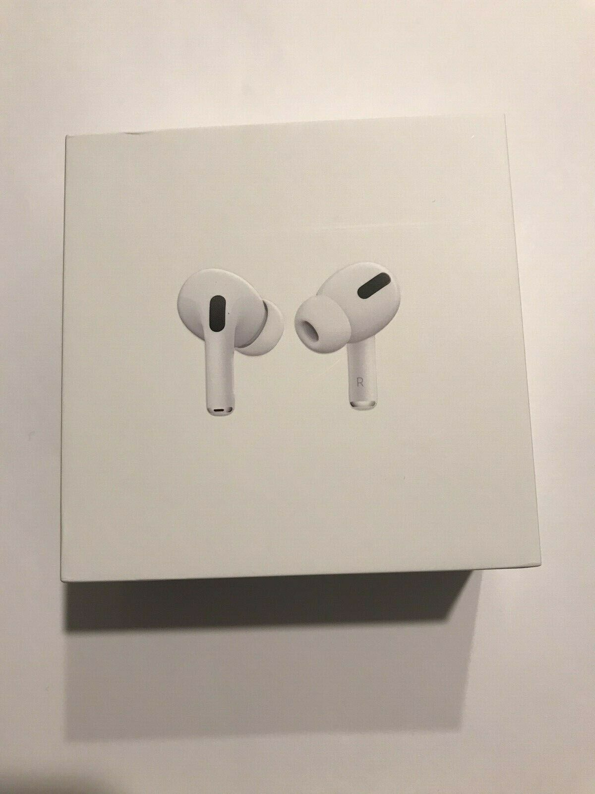 Apple Airpods Pro Empty Box With Charging Cable Manual Box Only Charging Cable Airpods Pro Its My Bday