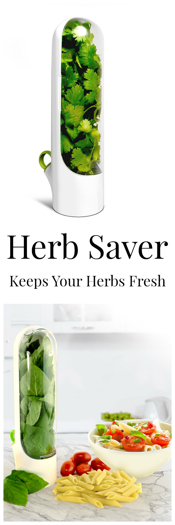 Herb Saver - Keeps herbs fresh for up to 3 weeks. #kitchen #gadgets ...