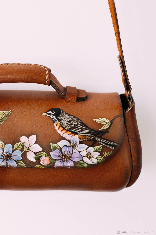 bd5cc69f84 Handbag-bar genuine leather – shop online on Livemaster with ...