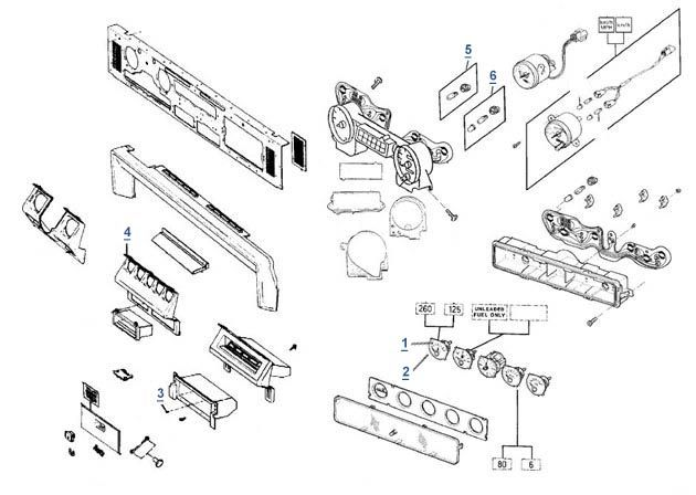 yj wrangler dash parts