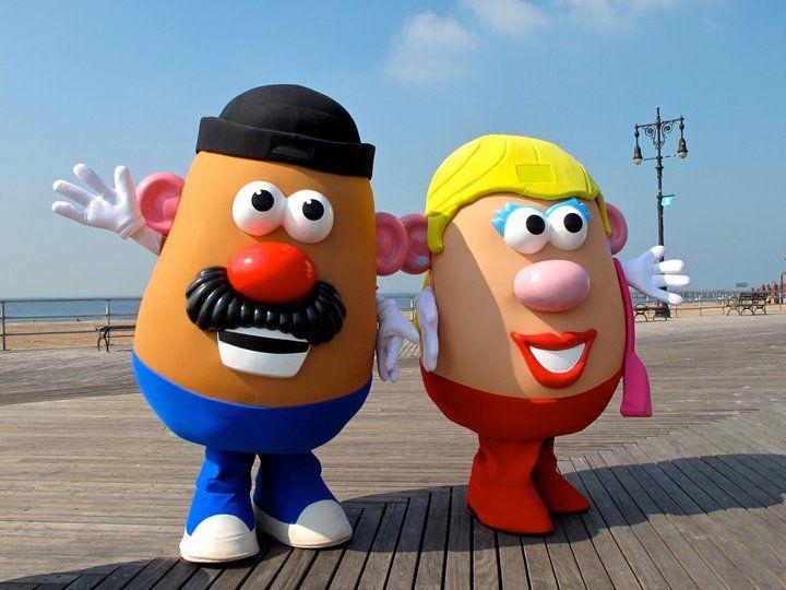 What did Mr. Potato Head say to Mrs. Potato Head? | Potato heads, Mr potato  head, Potatoes