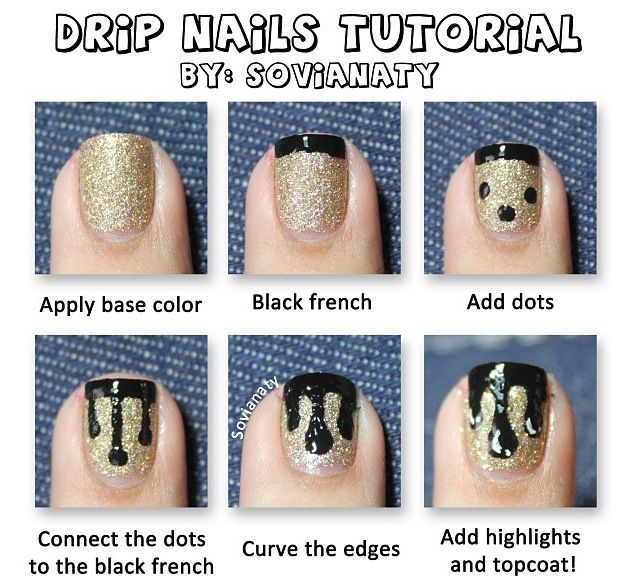 DIY Nail Art Designs: Simple And Easy Teal Nail Ideas For