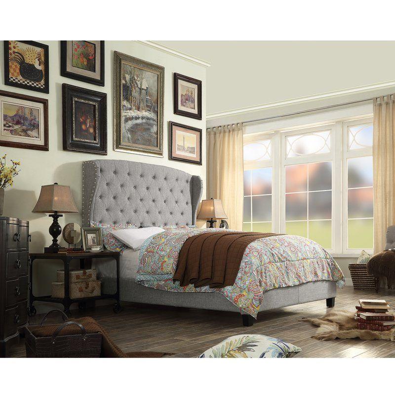 Siebert Upholstered Standard Bed   Small room design ...