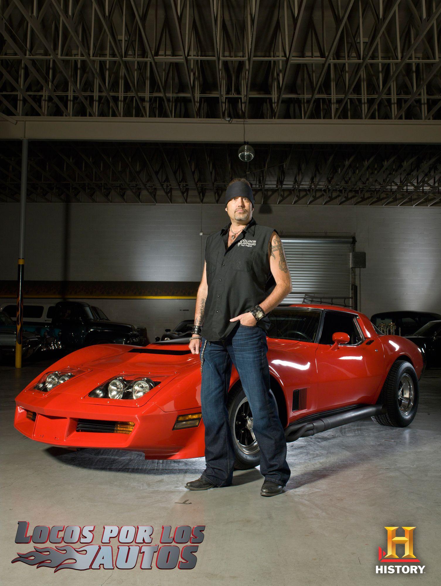 Danny El Conde Koker Y Un Chevrolet Corvette 75 Locos Por Los Autos Todos Jueves A Las 10pm Mex Col 10 30pm Ven 9pm Chi Arg