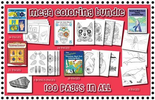 Substitute Teacher Bag Of Tricks Mega Coloring Sheet Bundle Coloring Book Art Substitute Teacher Substitute Teacher Bag