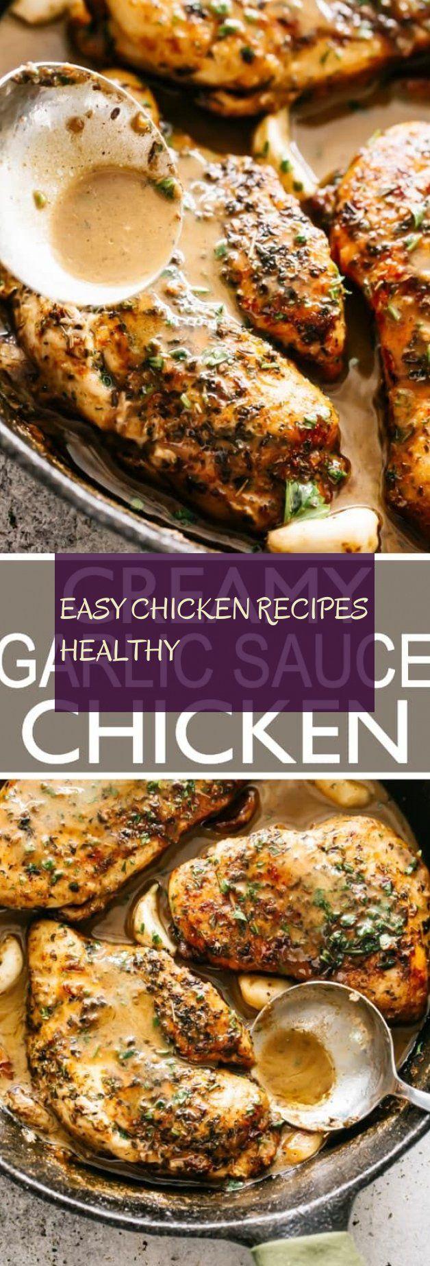 easy chicken recipes healthy