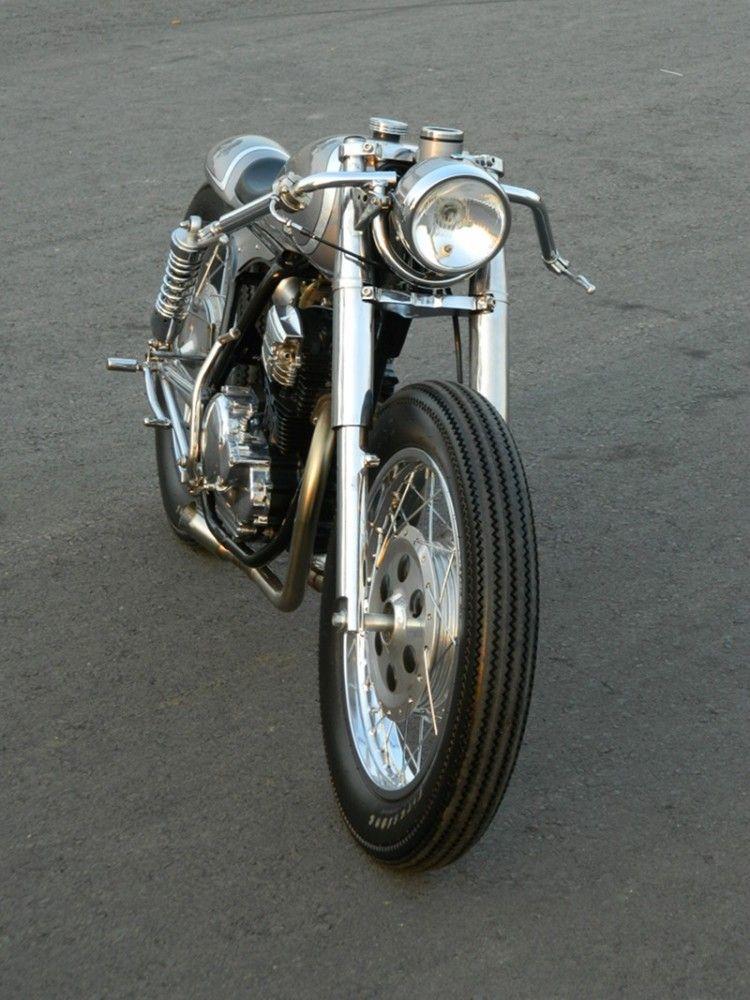 Yamaha Scorpio Cafe Racer By Jowo Kustom
