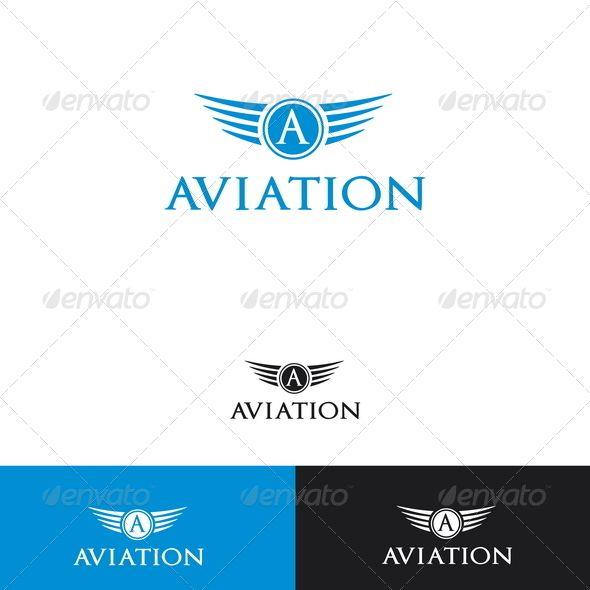 Aviation Logo Template Logo Templates Logos And Template