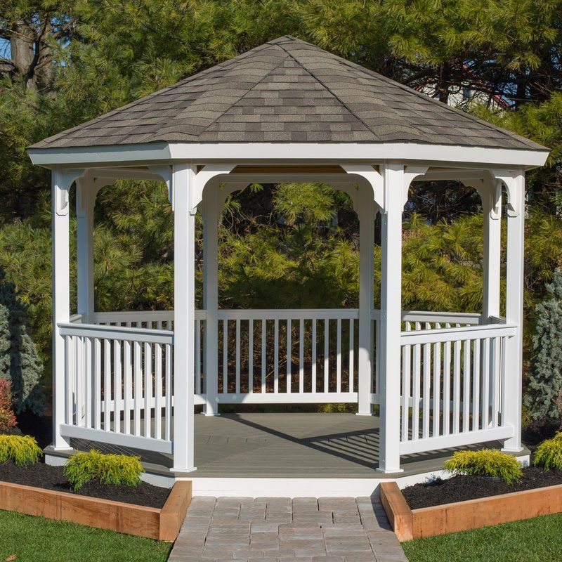 Solid Wood Patio Gazebo