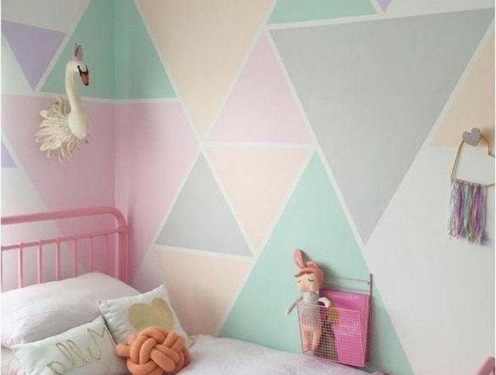 GroBartig Geometrische Formen   Tolle Wandgestaltung Mit Farbe   Archzine.net | Ikea  Hack And House